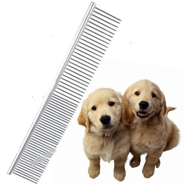 WarmSun Professional Stainless Steel Pets Grooming Comb for Cats Dogs Horses Rabbits Hamsters IPA-105476(China (Mainland))