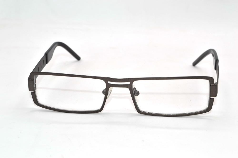 Retro Gun grey mechanical style glasses frame eyewear mens Custom Made Prescription short sight glasses Photochromic -1 to -9(China (Mainland))