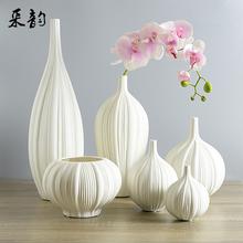 The Living Room Decoration Ceramic Flower Vase Home Furnishing  Vase  Chinese Ceramic Vase(China (Mainland))