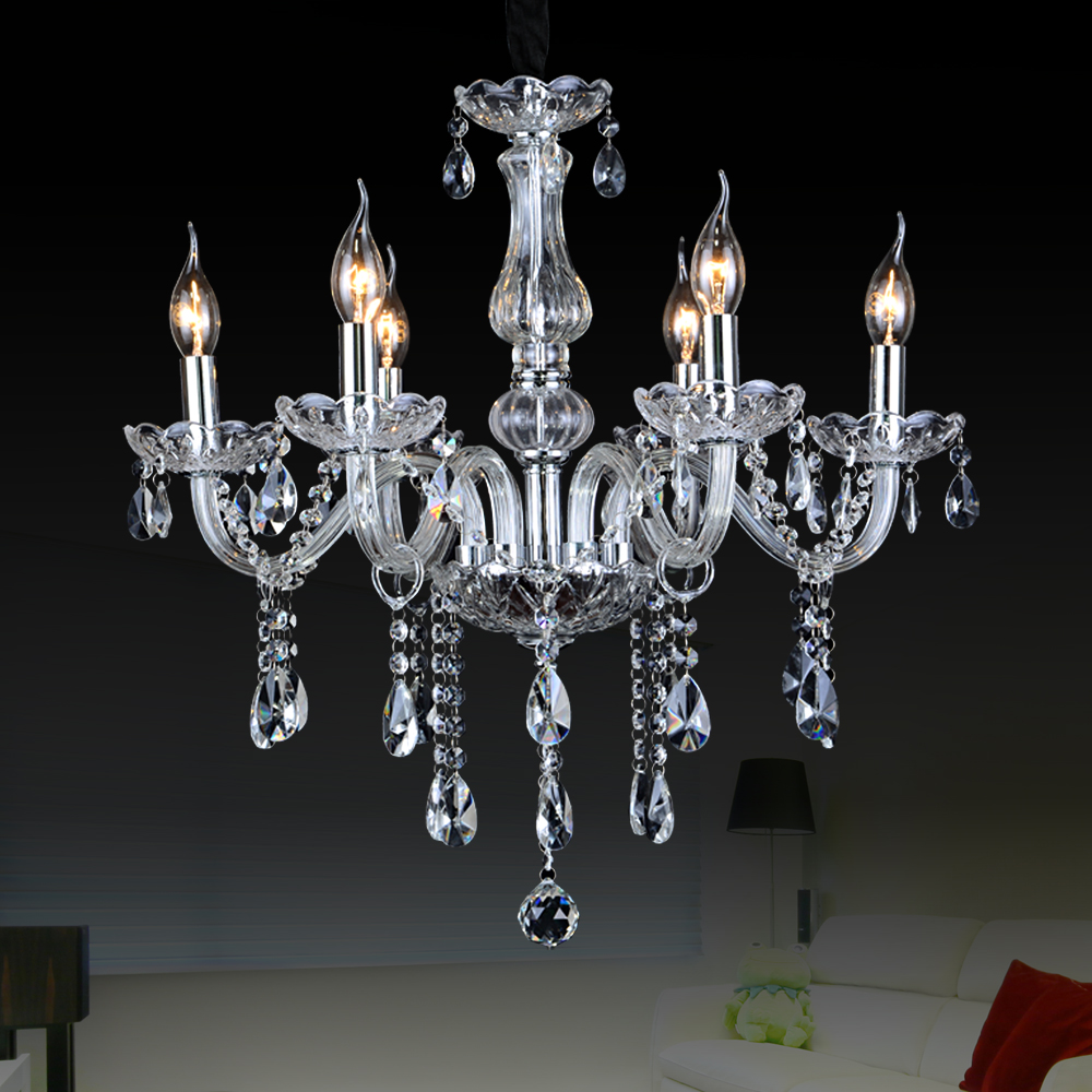 Crystal Large Chandeliers Contemporary Lampshades Murano