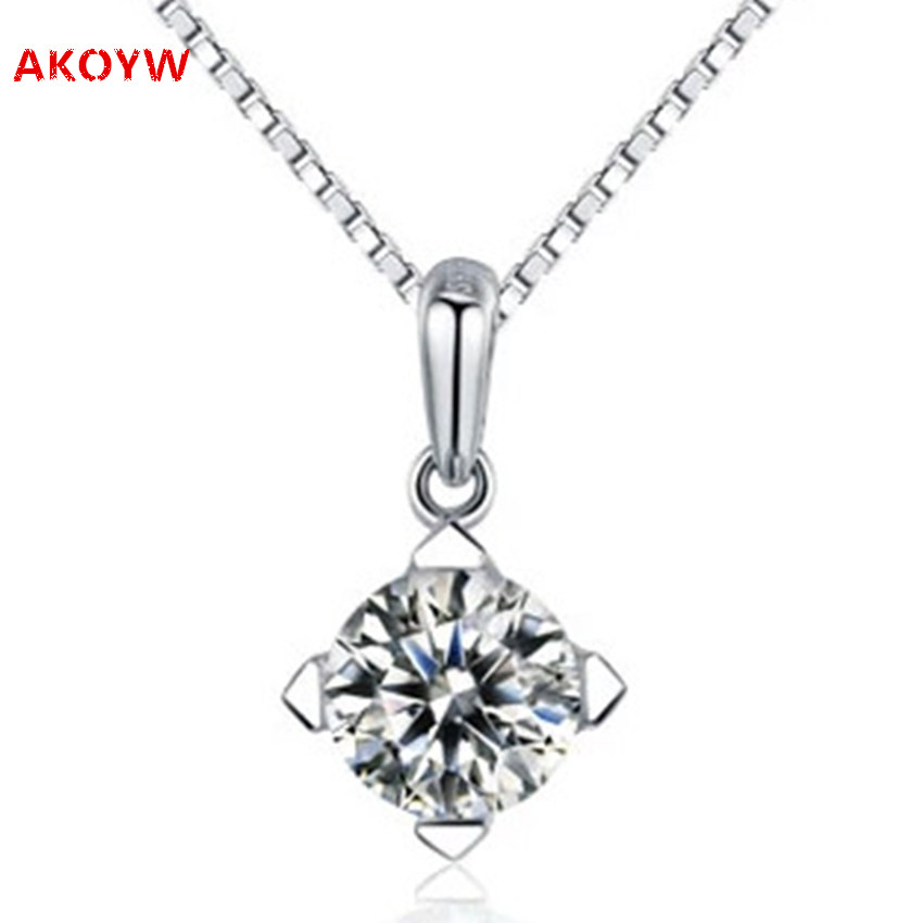 2016 new crystal silver plating pendant necklace fashion female models, high quality jewelry cute little pendants (NO necklace)(China (Mainland))