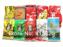 New tea, 10 Different Flavors Oolong Tea,Milk oolong tea,TiKuanYin ,DaHongPao,Puer tea+Free gift,Free shipping