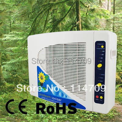 Гаджет  Multiply HEPA Air Purifier with Negative ion and Ozone GL-2108 for Home Air Cleaning Filter CE, RoHS None Бытовая техника
