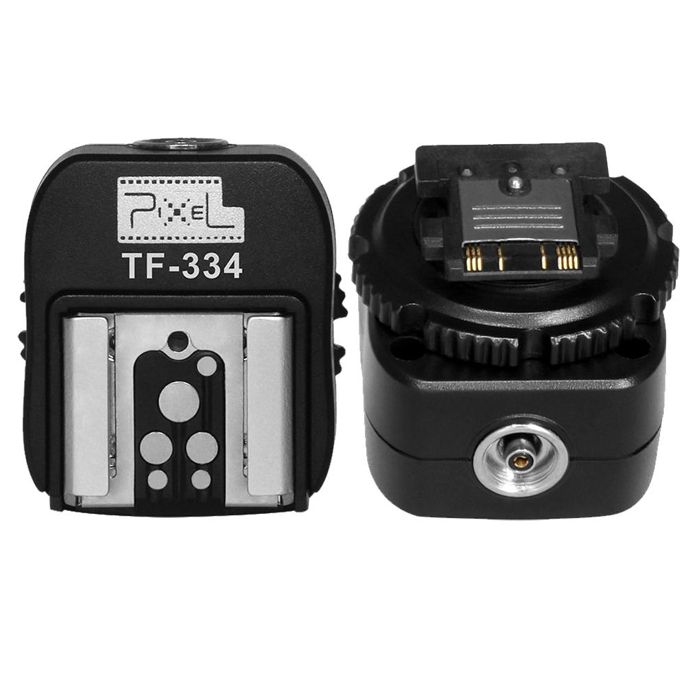 PIXEL TF-334 Hot Shoe Converter for Sony MI A7 A7R A7S II A6000 A6300 RX10 NEX6 A99 convert to Canon Nikon Pixel YONGNUO(China (Mainland))