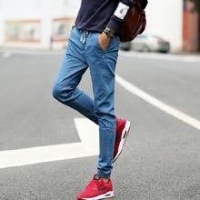 M-5XL 2016 Men's Jeans Letter Printed  Fashion Male Unique Cotton Jeans For Man Men's Casual Debris Printing Pants Hombre(China (Mainland))
