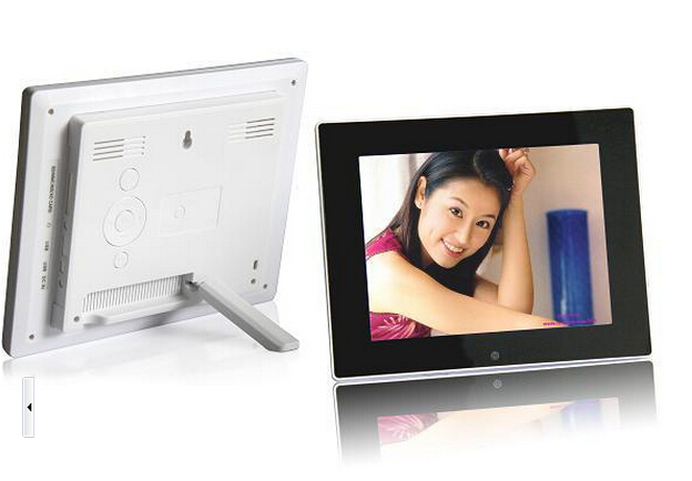 Free shipping 10.2 inch LCD Digital Photo Frame Support mp3, video play with Wireless Remote Control(China (Mainland))