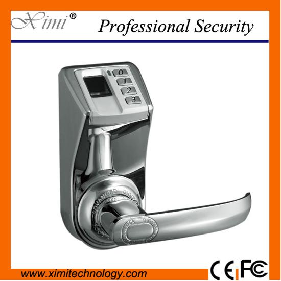 Adel3398 silver fingerprint lock door access control system good quality and hot sale door lock(China (Mainland))