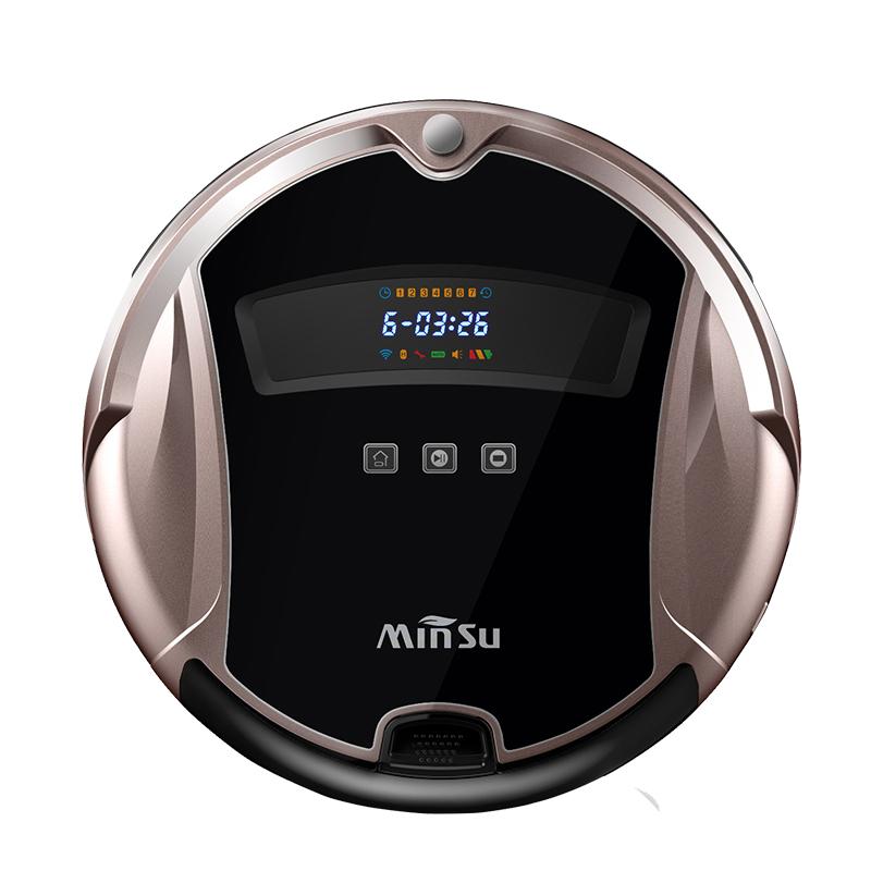 Smart Auto Robot Vacuum Cleaner Big Capacity Clean MOP Water Tank HEPA Filter,Ciff Sensor,Self Charge TianRui ROBOT ASPIRADOR(China (Mainland))
