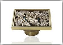 e_park Luxury Construction & Real Estate European Antique Brass Kitchen & Bath Fixtures Bathroom Parts Floor Drains touch tap