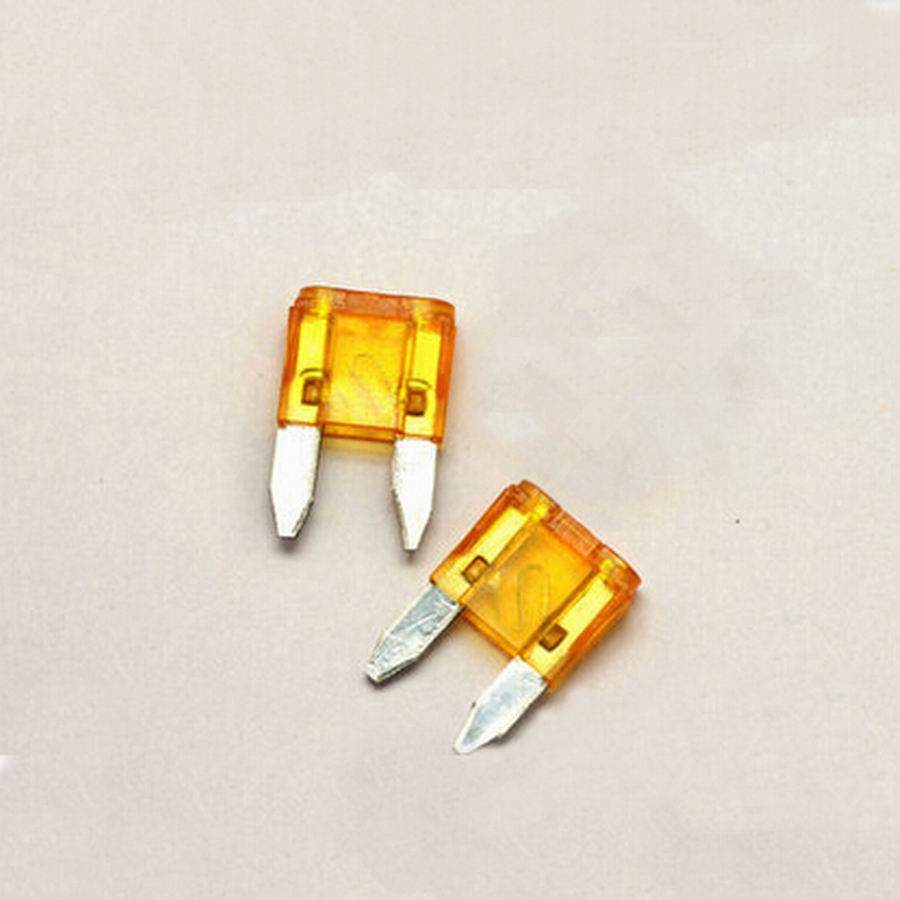 50pc/Lot 5A Small Automotive Fuses Car Fuse Auto Fuse Blade Components Free shipping(China (Mainland))