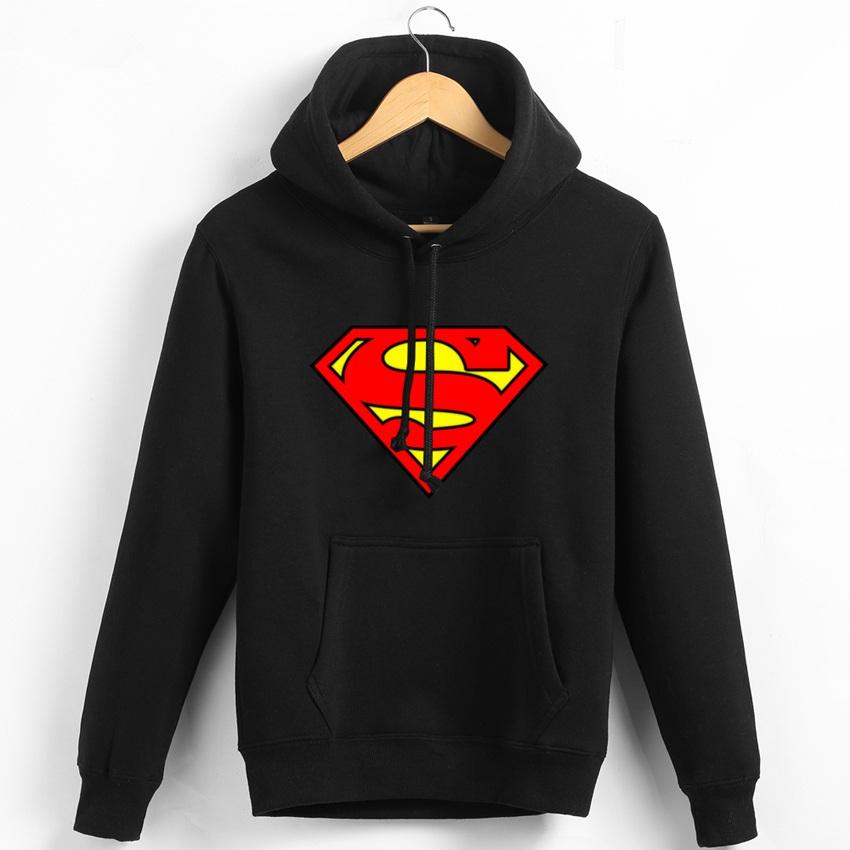 Superman Hooded Sweatshirt,Superman Pullover Man,Superman Jacket,Super Man Hoodie,Men Anime Sweatshirt,Mens Fleece Coats TC552(China (Mainland))