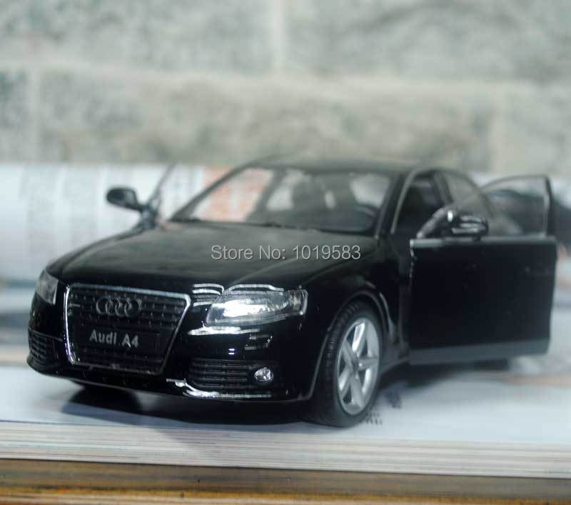 WELLY 1/24 Scale Car Model Toys Audi A4 Diecast Metal Car Toy New In Box For Gift/Collection/Kids(China (Mainland))
