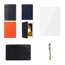 """6 in 1 Wireless Bluetooth 3.0 Keyboard set For iPad Pro12.9"""" Tablet with PU Leather Case Screen Protector film Stylus Pen Combo(China (Mainland))"""