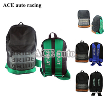 ACE-Bride backpack JDM Bride Racing bags bride Fabric For TAKATA straps  style