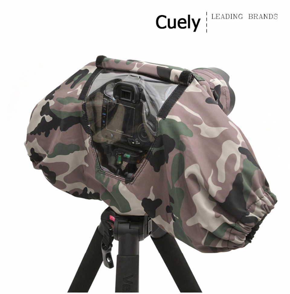 Professional Camera Rain Cover Coat Bag Protector Rainproof Waterproof Against Dust for Canon Nikon Pendax Sony DSLR SLR