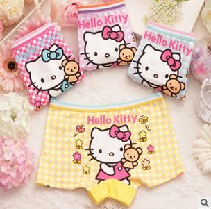4pcs/lot Children/kids/girls cartoon character/ underwear / Briefs /Panties/ underpants ftnn8133(China (Mainland))