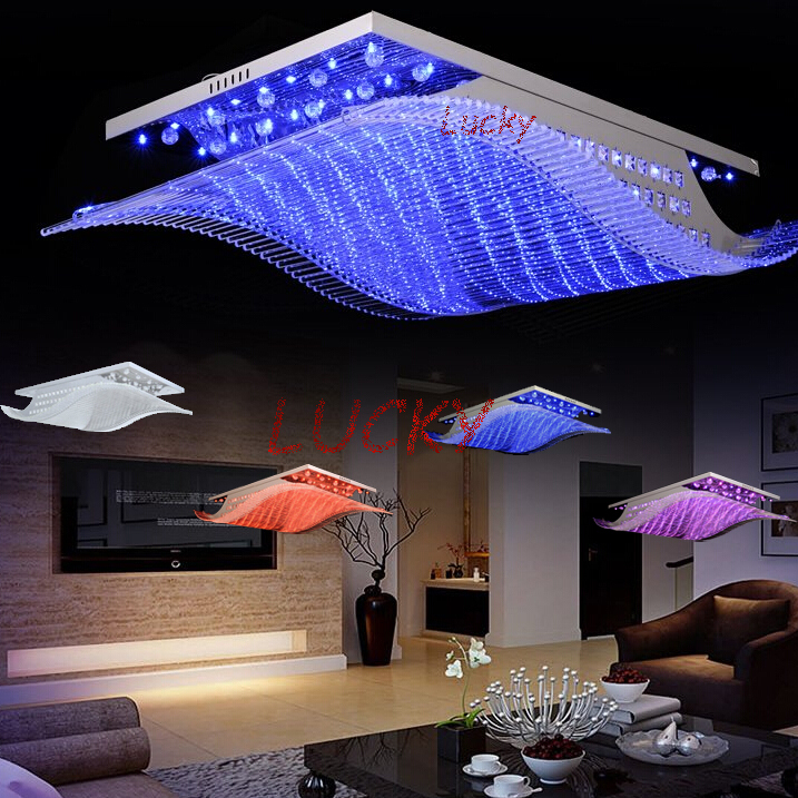 4 color conversion 2014 Fashion Crystal Ceiling Chandelier LED Chandelier Modern Living Dining Crystal Lighting lustres<br>