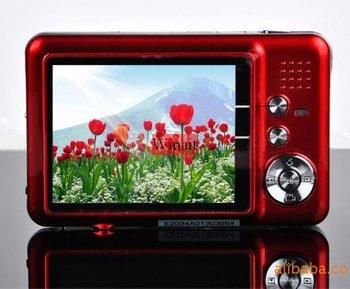 "NEW 12.0 MP 2.7""TFT LCD DIGITAL CAMERA 8X Digital Zoom, Anti-shake, Rechargeable Lithium Battery, Camera Bag,  Free Shipping"