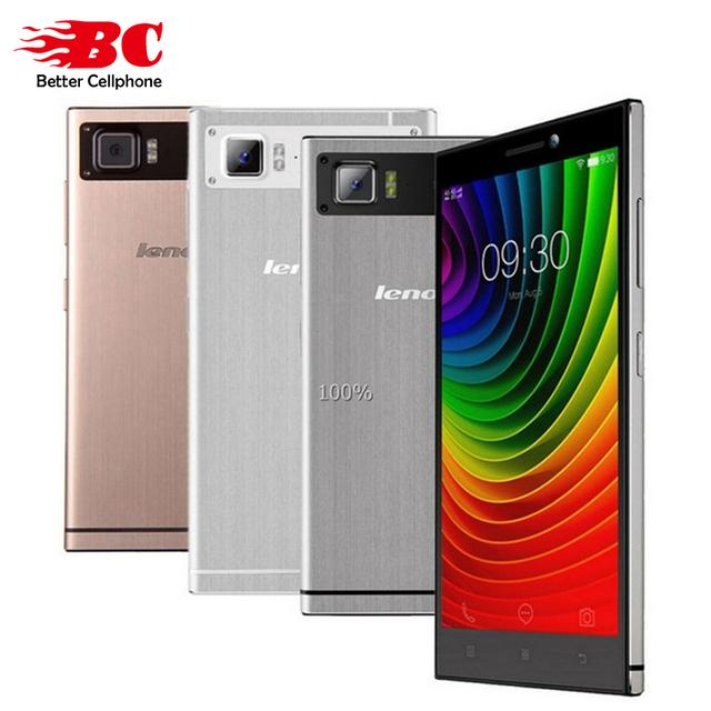 Оригинал Lenovo Vibe Z2 k920 mini 5.5 дюйма 1280x720 P кач-акция QuadCore 1.2 ГГЦ MSM8916 2 ГБ RAM 32 ГБ ROM 13.0MP 4 Г FDD-LTE телефон
