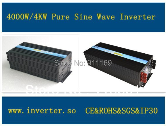 4KW Battery Inverter Charger Inveter 24V10A One Year Warranty, + good quality fast delivery(China (Mainland))