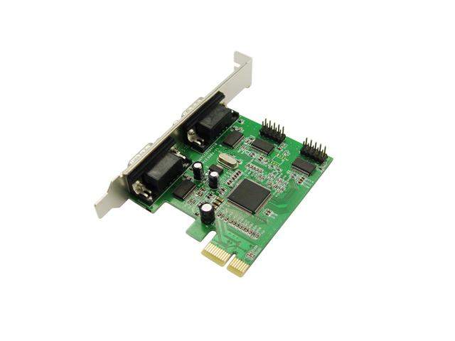 MCS9904 Chipset,4 serial port PCI Express controller card with fan out cable,support low profile bracket(China (Mainland))