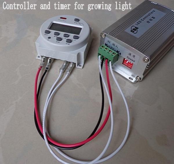 Sunset Sunrise led grow Light controller and timer 150W 12V for aquarium lamp Spectrum Marine Seawater Tank plant Lights(China (Mainland))