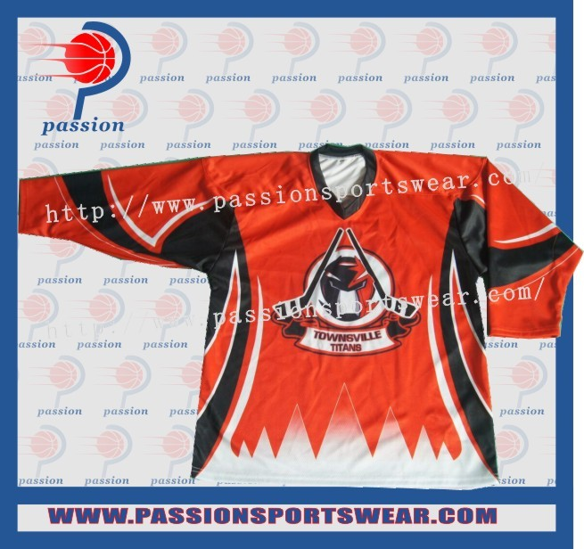 Design 2016 New Style Ice Hockey Team Jerseys With Any Logos Factory Price And High Quality(China (Mainland))