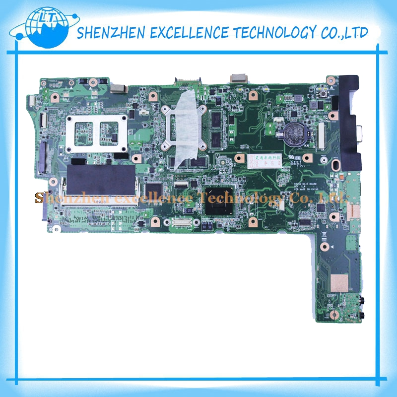 Фотография Laptop motherboard for ASUS N73SM N73S N73SV REV 2.0 GT 540M or GT 630M 3 RAM SLOT Socket PGA989 DDR3 with high quality