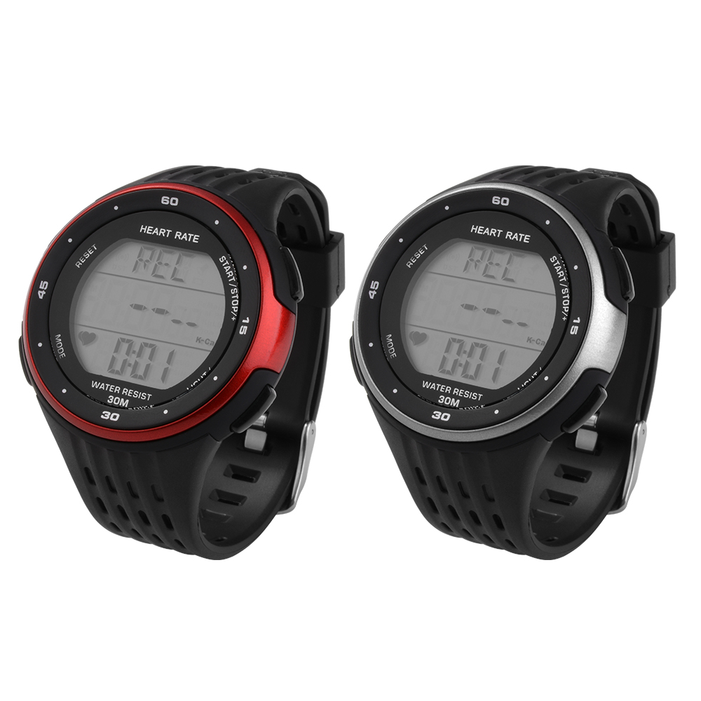 Fitness Sports Watch Pulse Heart Rate Monitor Calorie Counter Alarm+Chest Strap OS639-OS640(China (Mainland))