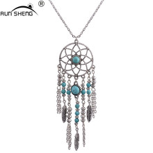 Buy RUNSHENG 2016 Bohemia boho Long Chain Vintage Tassel Maxi necklace Jewelry Necklaces & Pendants Women Collier Jewelry for $2.13 in AliExpress store