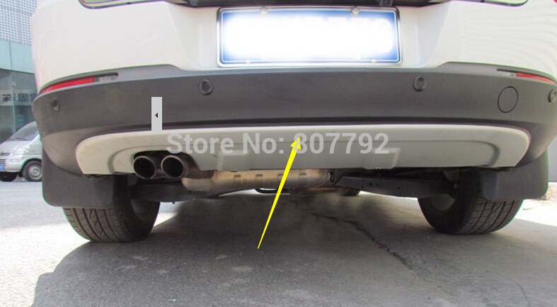 High Quality Rear Bumper Protector Guard Fit For VW Volkswagen TIGUAN 2010 2011 2012 Stainless Steel 1pc(China (Mainland))