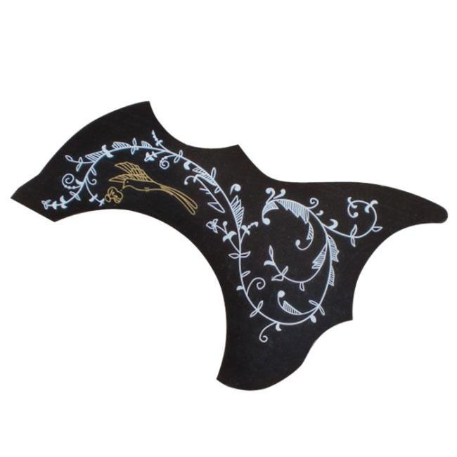 """Alice Electric Acoustic Guitar Pickguard For 40"""" 41"""" Size Guitar Pick Guard Plastic - Color Bird & Flowers(China (Mainland))"""