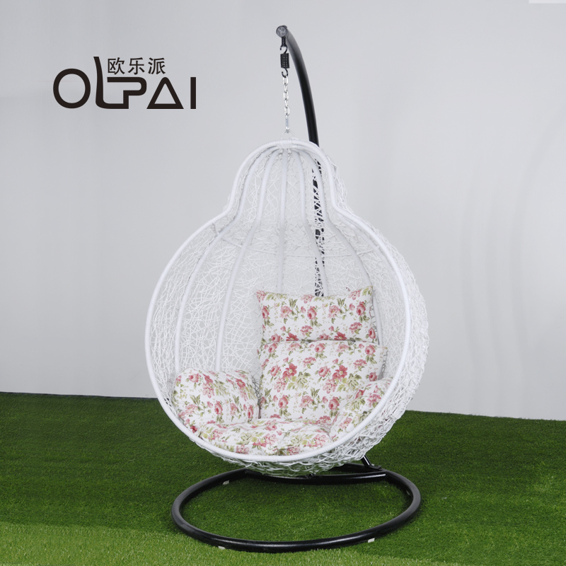 Chairs nest rattan basket rattan swing chair hanging chair lazy white