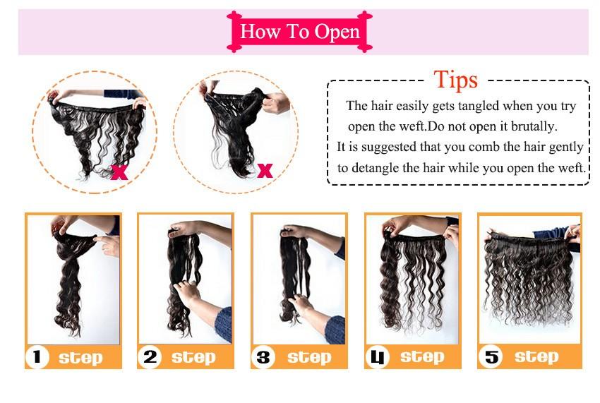 "Peruvian Virgin Hair Body Wave 3 Bundles Unprocessed Virgin Peruvian Body Wave Hair 8""-28″ Grade 8A Peruvian Human Hair Bundles"