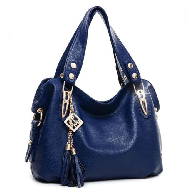 PU Leather Tassel Bag