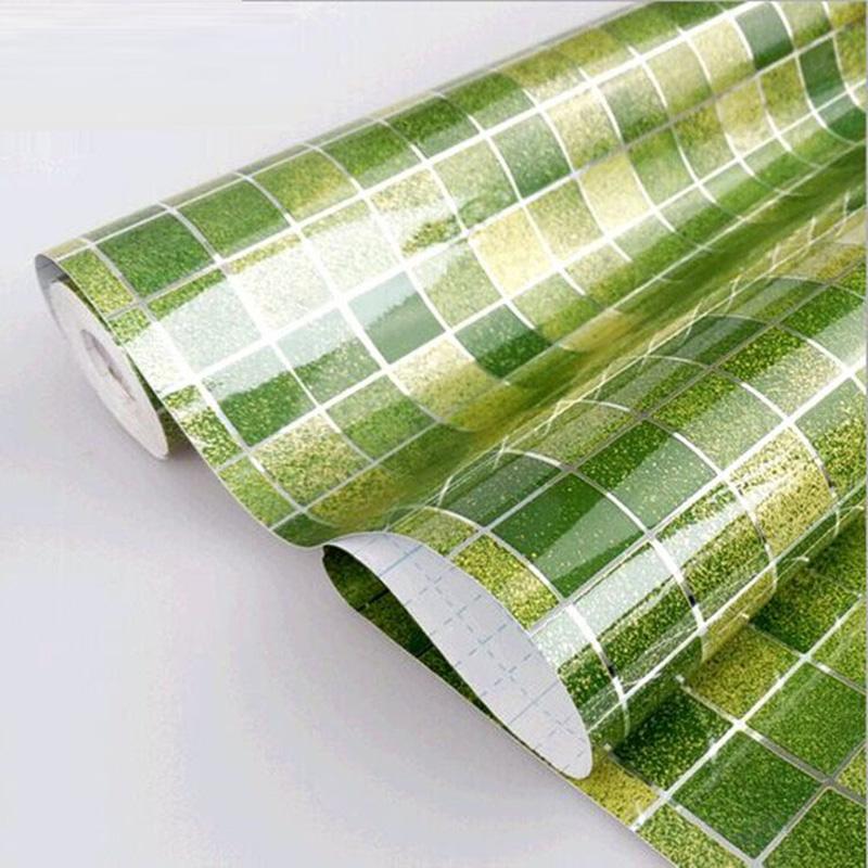 Compra pvc azulejos ba o online al por mayor de china for Pegatinas baldosas cocina