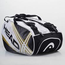 100% Подлинная Head Оригинальный Бренд Raquete Де Теннис Резервного Новый Рюкзак Теннис Сумка 6 Шт. Оборудования(China (Mainland))