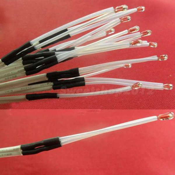 Гаджет  Reprap NTC 3950 Thermistor 100K with 1 Meter wire for 3D Printer 5 PCS None Электронные компоненты и материалы