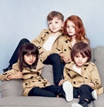 Fashion Girls Coat Long Turn down Collar Children Outerwear Windbreaker Clothes Coat Kids Jacket Solid