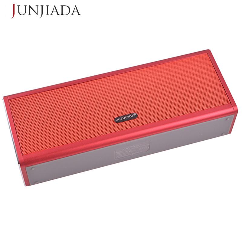 20W JUNJIADA Metal Bluetooth Speaker 4400mAH Power Bank Portable Super Bass Wireless Speaker Loudspeaker Same to Piple S5(China (Mainland))