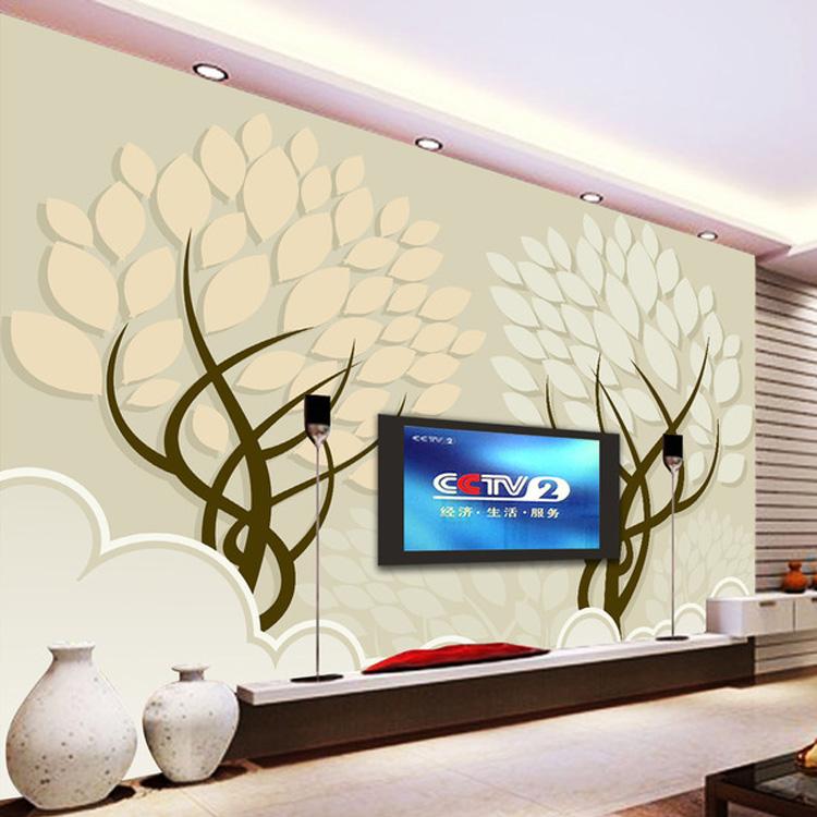 Buy large stereo seamless 3d mural - Wallpaper living room modern ...