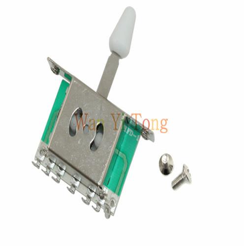 5 Way Guitar Pickup Selector Switch for Strat Guitar(China (Mainland))