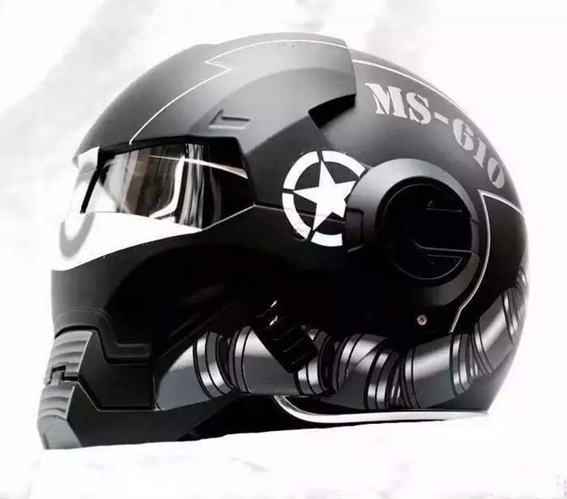 achetez en gros ironman casque de moto en ligne des grossistes ironman casque de moto chinois. Black Bedroom Furniture Sets. Home Design Ideas