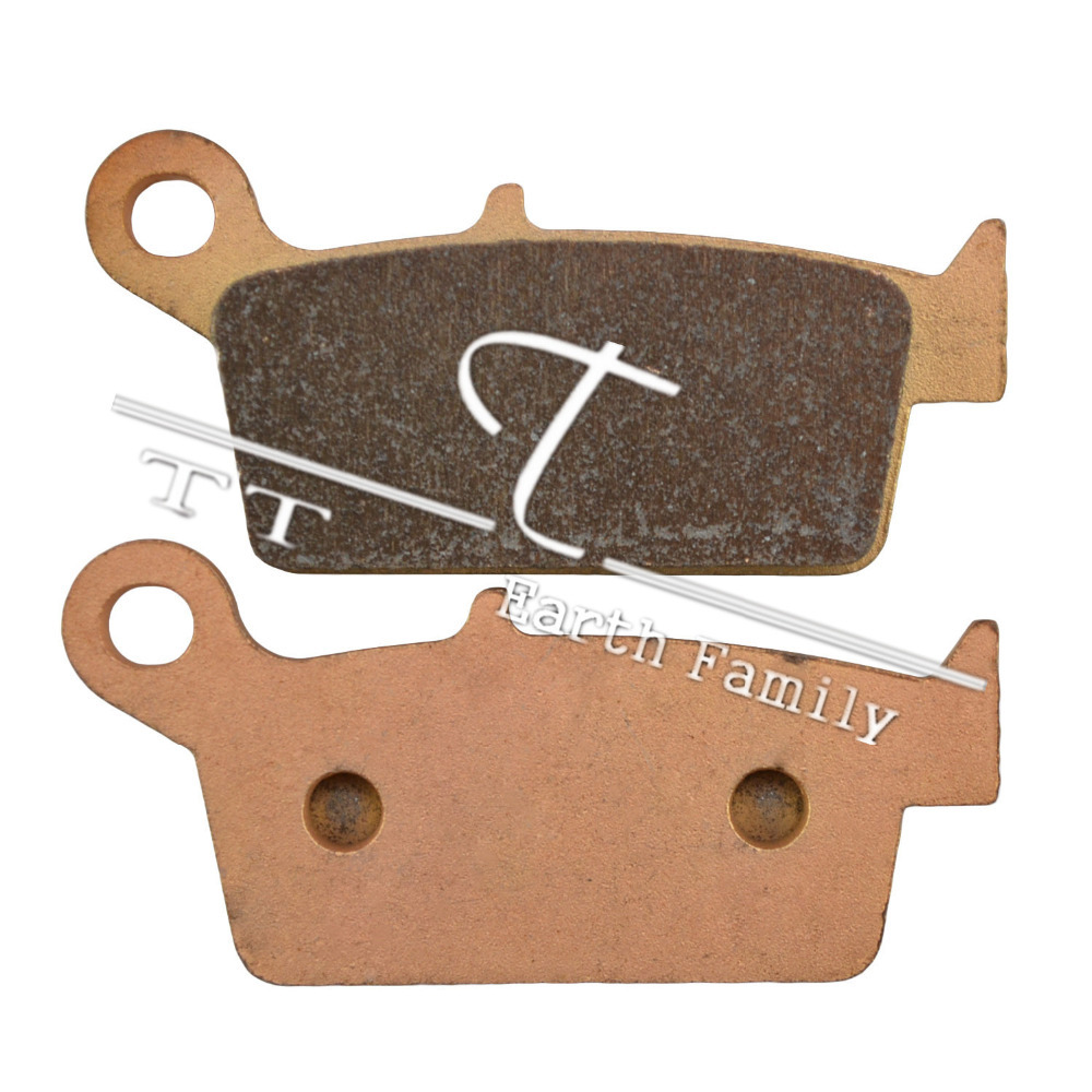 Motorcycle discs Copper Based Sintered FA131 Rear Brake Pads, For KAWASAKI KX 125 K2-K5/L1-L4/M1-M3/M6F-M8F 95-08(China (Mainland))