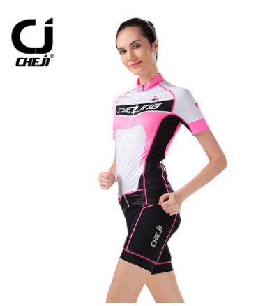 CHEJI Womens Team Cycling Clothing Bike Bicycle short sleeve cycling jersey Trouser Sets<br><br>Aliexpress