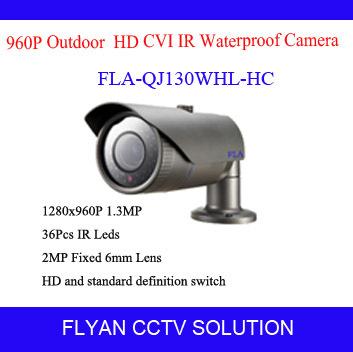 Фотография 1.3 Megapixel HD CVI camera IR bullet Waterproof outdoor Dahua solution HD-CVI camera 36pcs IR Black reds IR-Cut cctv hd camera