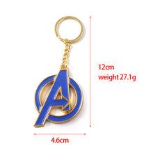 Avengers 4 Thor Axe Búa Móc Khóa Marvel găng tay Thế Giới Bóng Tối Thiết Bị Tìm Chìa Khóa Người Sắt Móc Khóa Phụ Kiện Trang Sức(China)