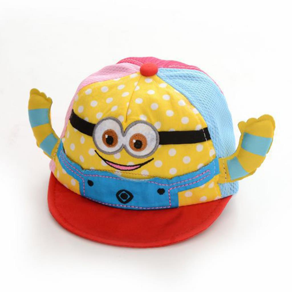 2015 Fashion Cartoon Baby Hat Infant Hat Cap Top Hat For Boys and Girls Summer Style(China (Mainland))