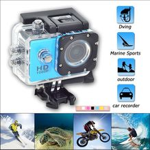 SJ4000 Full HD 1080P Mini Action Camera Waterproof Helmet Diving 30M  Car Recorder Extreme Outdoor Sports DV