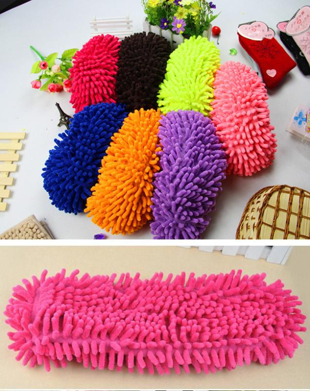 10 pcs x Multifunction Mop House Bathroom Floor Lazy Dust Cleaner Slipper Shoes Cover 5K(China (Mainland))